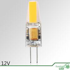 Bombilla LED (Bi Pin ) G4 LED COB 6W Blanco Cálido 12V - Consumo 6W