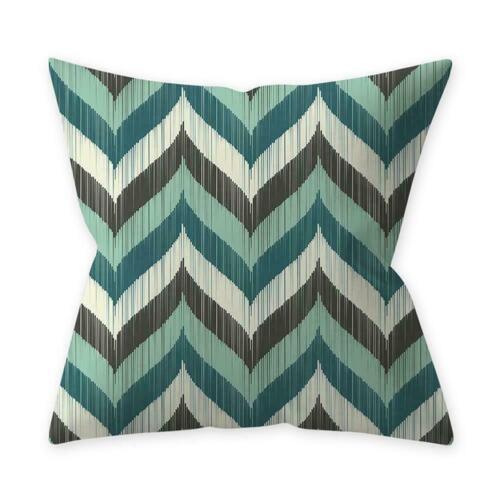 """Home Decor Cushion Cover Teal Blue Series Throw Sofa Waist Pillow Case 18/"""""""
