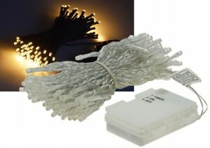 LED-Batterie-Lichterkette-034-CT-TK100-034-10m-warmweiss-IP44-100-LEDs-6-Std-Timer