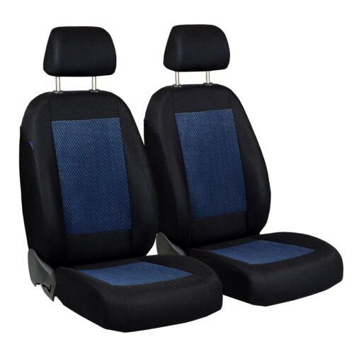 Universal fundas para asientos rojo para Volkswagen Caddy III ya referencias set referencia asiento del coche