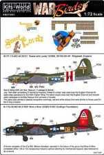 Kits World 172067-1:72 B-17 Flying Fortress Decalset Neu