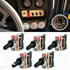 Baomain Toggle Switch SPST ON-OFF Type 2 pin 12V 25A with waterproof cover for Auto Car