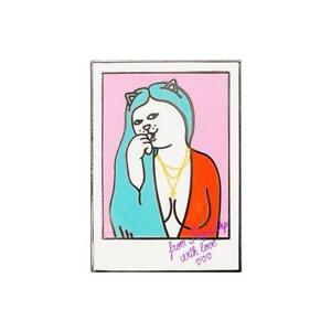 Genuine Rip N Dip Love Letter Pin - Multicolour