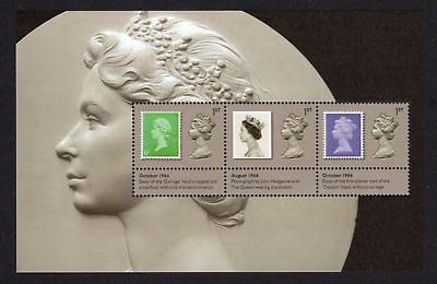 Gb 2017 Machin 50th Anniversary~prestige Stamp Booklet Pane~unmounted Mint~no 2~