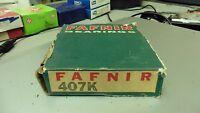 Fafnir 407k In Distressed Box Open Both Sides Single Row Roller Bearing