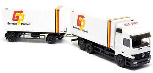 Herpa-MB-Mercedes-Actros-Wechsel-Container-Haengerzug-LKW-German-Parcel-1-87-H0