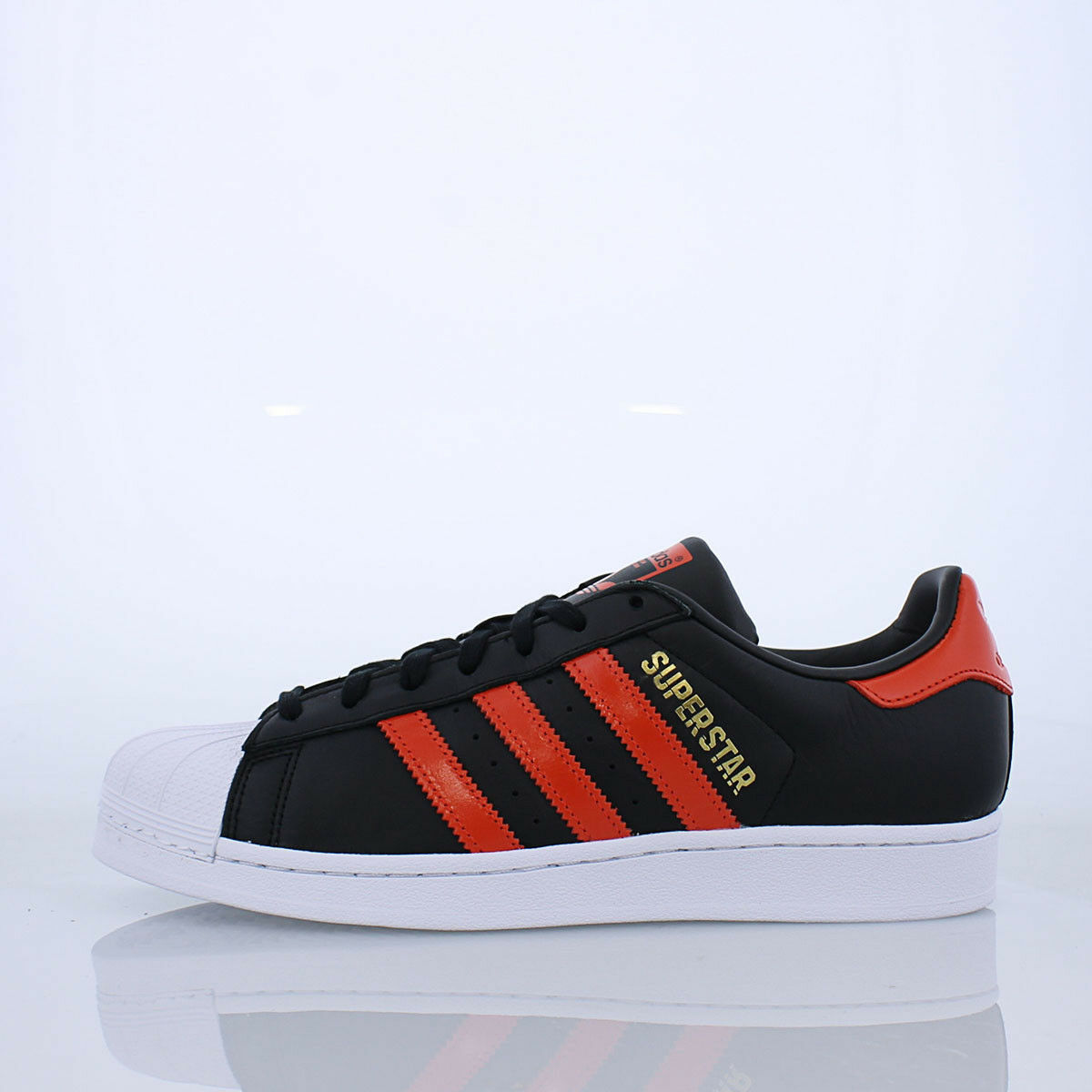 b41994-blk / adidas red / w - adidas / superstar 5cb729