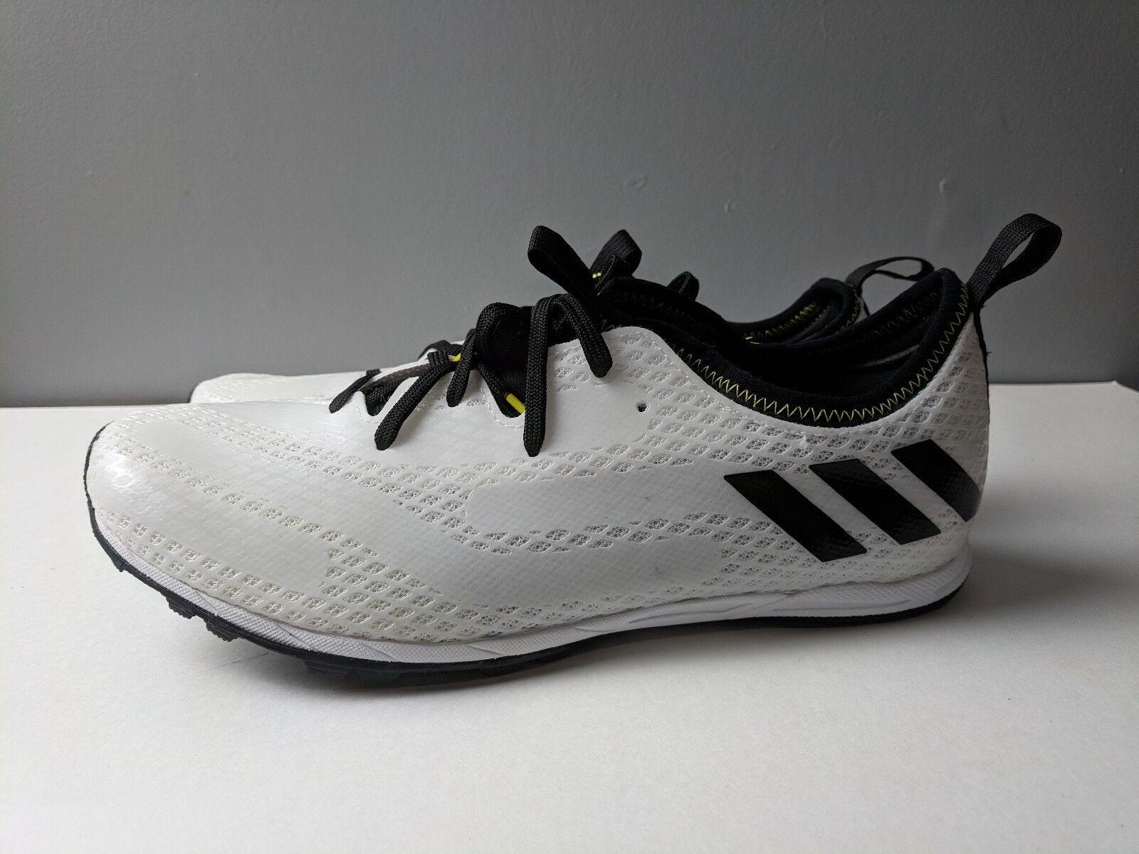 Brand New Adidas XCS Trainer Shoe Black White Womens Size 8.5 SPIKE