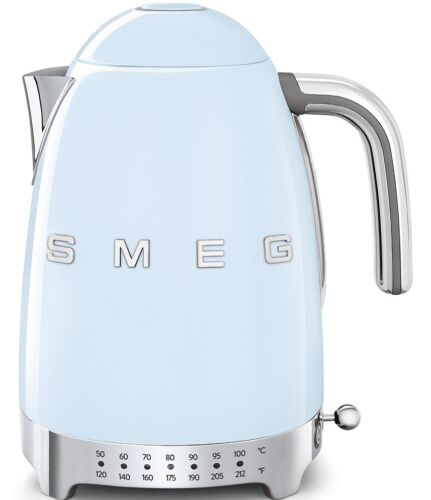 SMEG Retro Style 1.7 Lt 7 Cup 1500W Electric Variable Temperature Kettle NEW