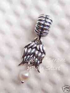 ed8916b9e Image is loading NEW-Authentic-PANDORA-White-Pearl-GUARDIAN-ANGEL-Wings-