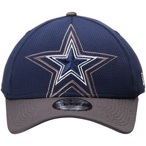 online store aa573 8ebfd Image is loading DALLAS-COWBOYS-CAP-HAT-NFL-BLUE-FLEXFITBASEBALL-CAP-