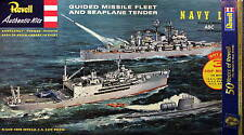 Revell/GermanyG333 Guided Missile Fleet&Seaplane TenderGiftSetLtdEd(LASTONE@100)