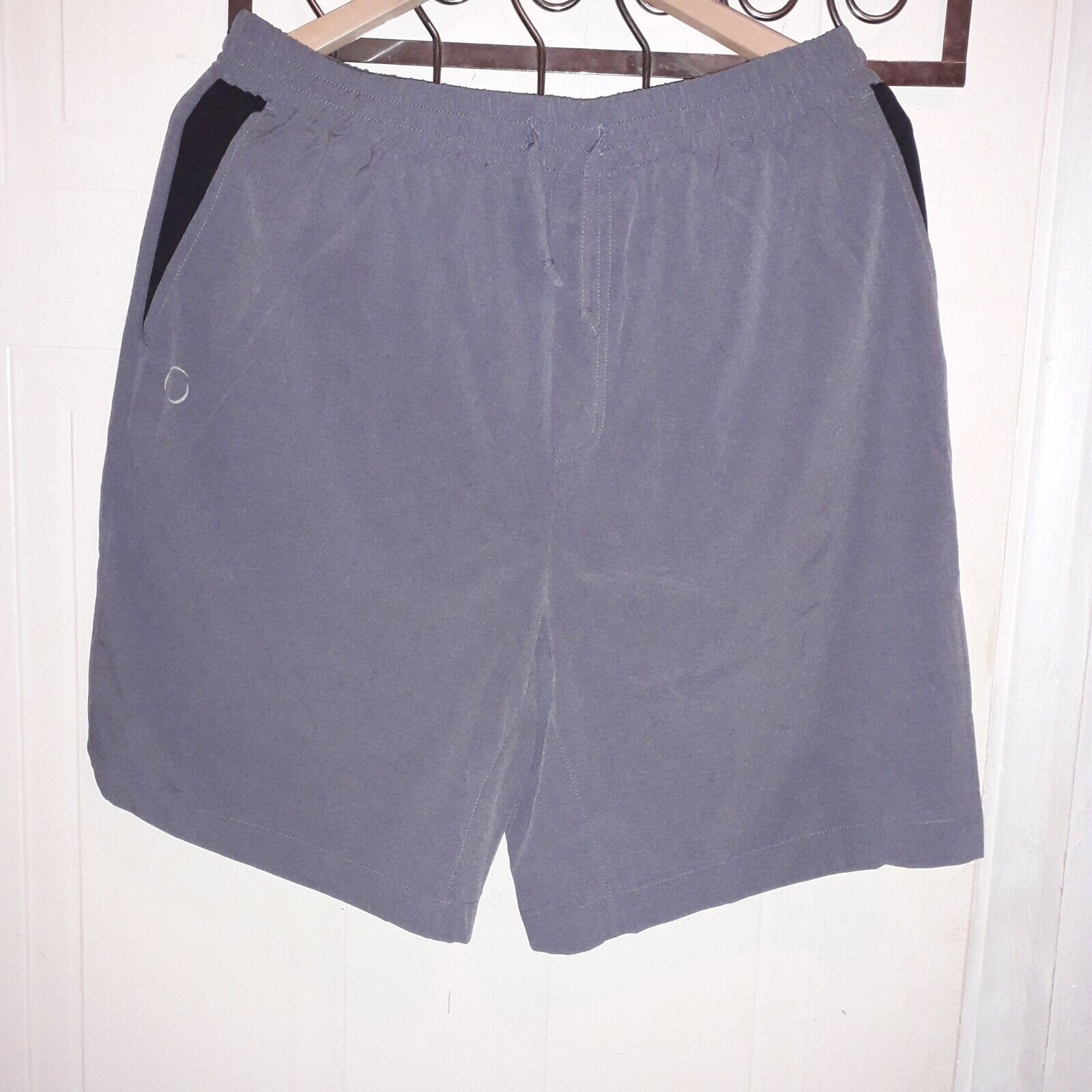 Ohmme Warrior II Lined Yoga Shorts - grey.size  L