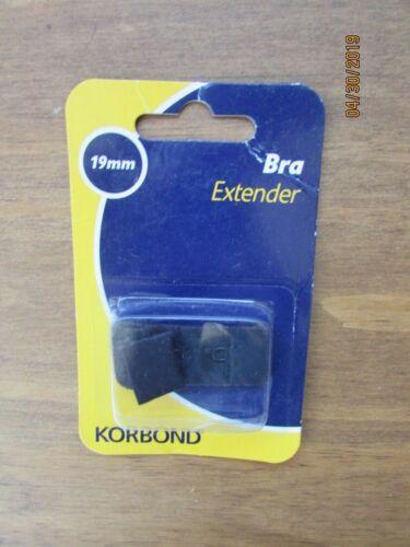 19mm Black Bra Extender Strap Korbond Women Underwear Accessory