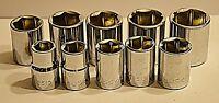 Reduced Husky 3/8 Inch Drive Metric 10 Piece 6 Point Socket Set Brand