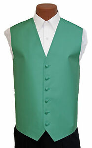 Large Mens After Six Aries Sky Blue Fullback Prom Wedding Tuxedo Vest /& Tie