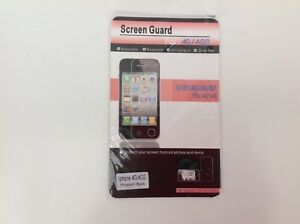 Screen-Guard-Frosted-Black-iphone-4G-4GS-Brand-New