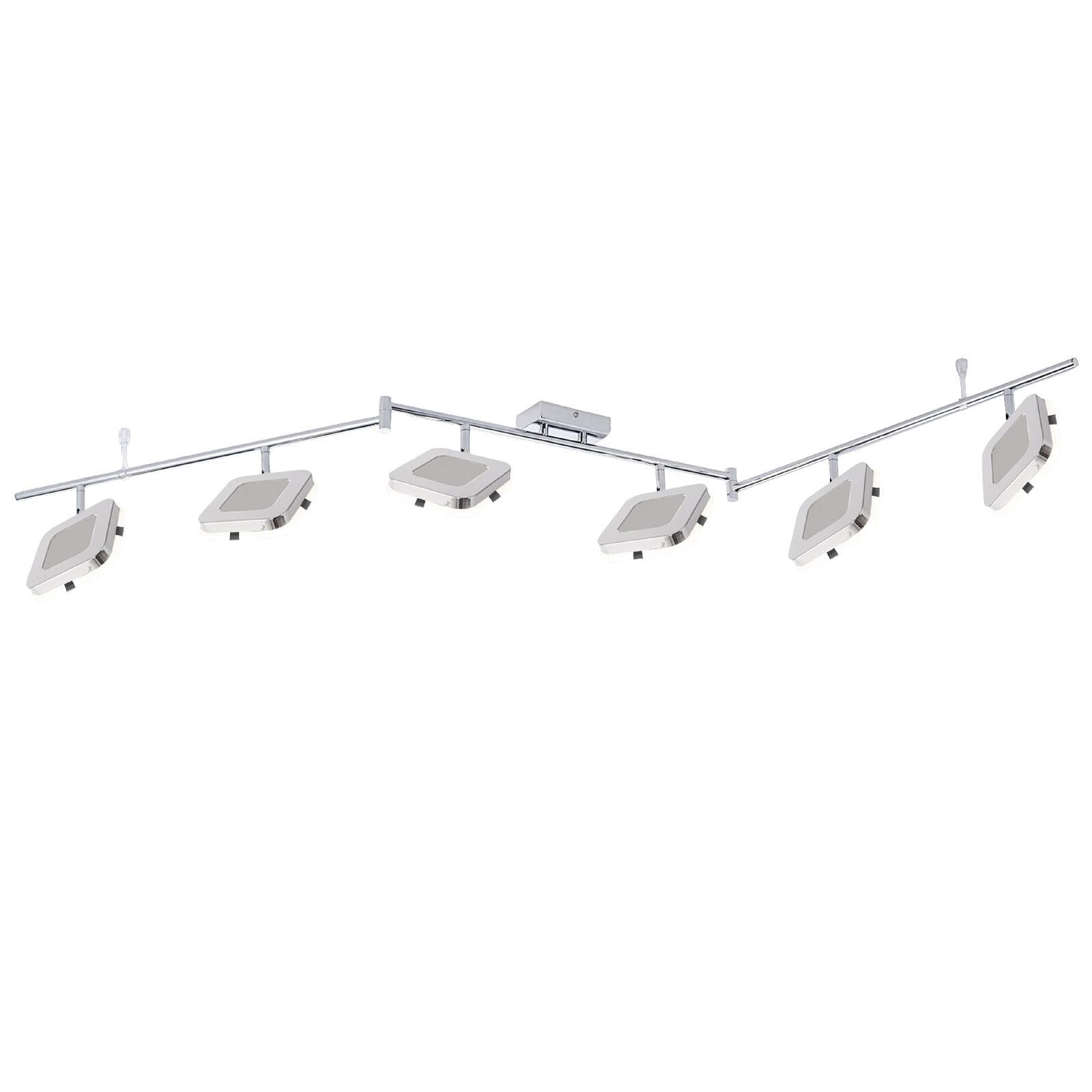 LED Deckenleuchte 6er Spotbalken Paul Neuhaus Quarto 11076-17 Flurlampe Strahler