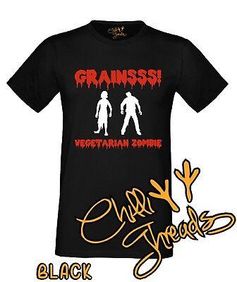 AnpassungsfäHig Vegetarian Zombie, T-shirt Vest Tshirt, Veggie, Vegan, Animal Lover, Halloween Verschiedene Stile