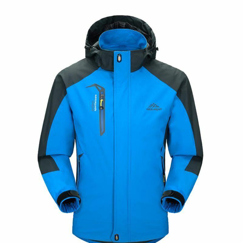 Mens Waterproof Windproof Warm Coat Snow Winter Jacket Outwe