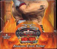Epic Battles Tcg Tekken 5 Starter Deck Display Mint