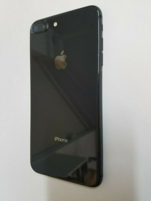Original Iphone 8Plus A1864 Gray Frame Back Cover Main Camera Housing 8+ Buttons