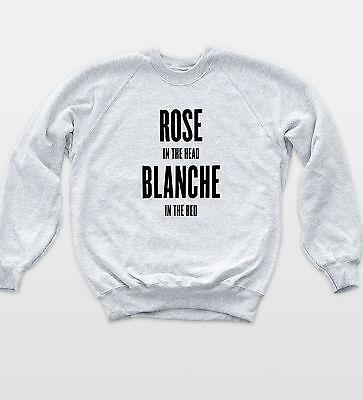 Golden Girls Rose Sweatshirt Funny Tv Blanche Hipster Retro Sophia Petrillo Top Eine GroßE Auswahl An Waren