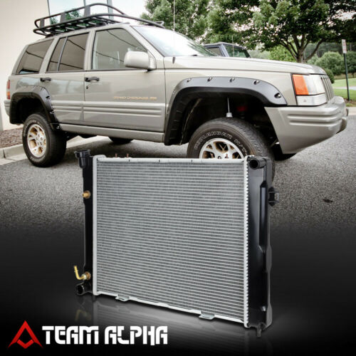 Fit 1993-1997 Jeep Grand Cherokee Aluminum Factory Replacement Radiator DPI-1396
