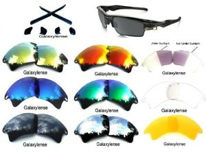 5543bf76d9 Galaxy Replacement Lenses For Oakley Fast Jacket XL Sunglasses Multi ...