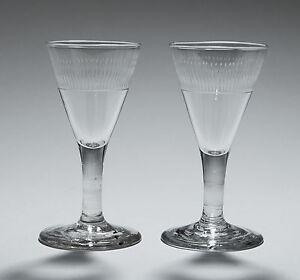 Georgian Cordial Glasses
