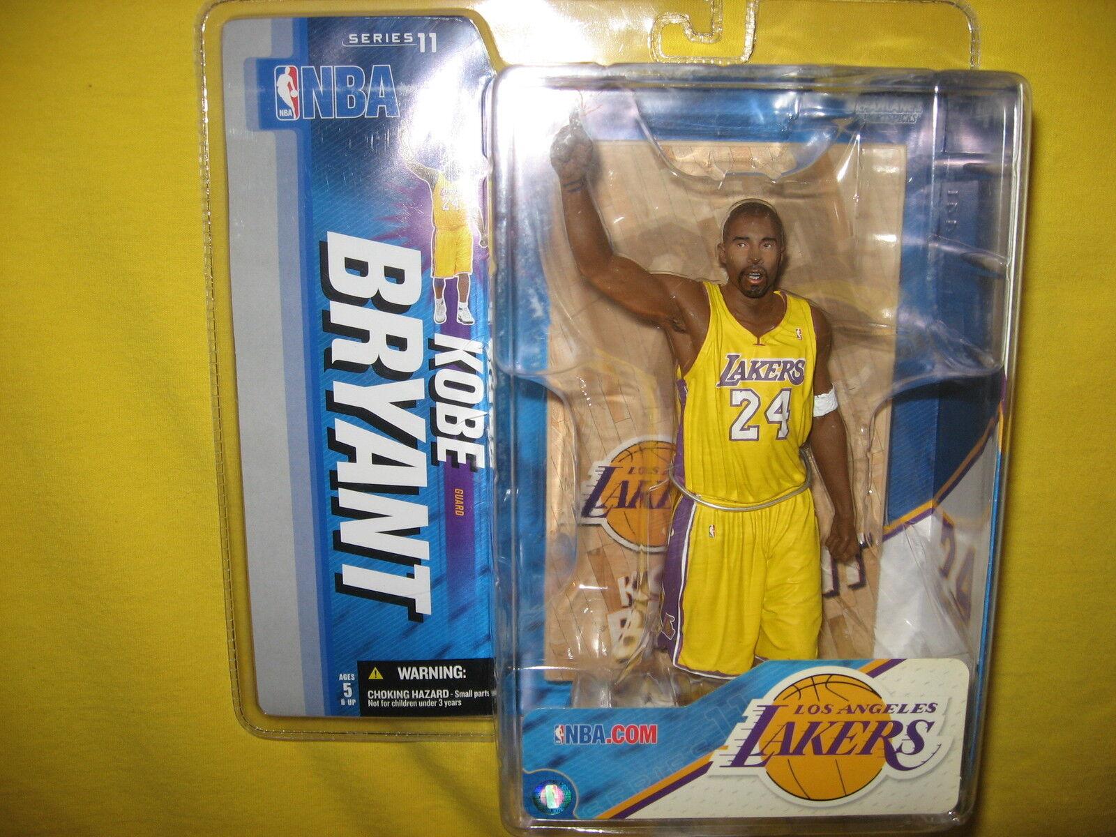 Kobe Bryant  McFarlane NBA Serie 11 Los Angeles Lakers variante de juego de 81 puntos