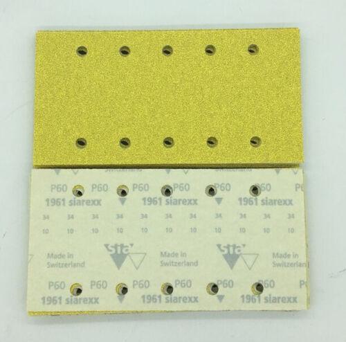 Schleifpapier 115x230 Bosch Blue-Line Klett Schleifstreifen Schleifscheiben NEU