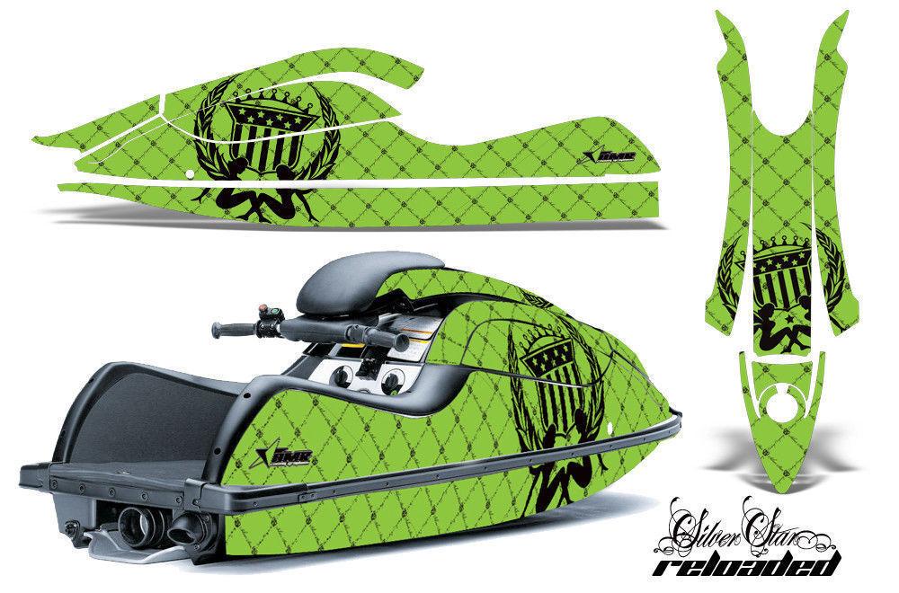 Jet Ski Ski Ski Grafik Kit Aufkleber für Kawasaki Js 800 Sx-R 2003-2012 Reloaded K G a2400f