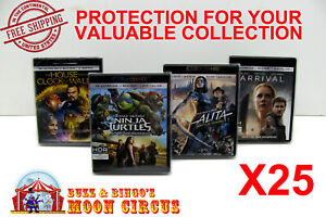 25x-4K-UHD-WITHOUT-SLIPCOVER-CLEAR-PROTECTIVE-BOX-PROTECTOR-SLEEVE-CASE