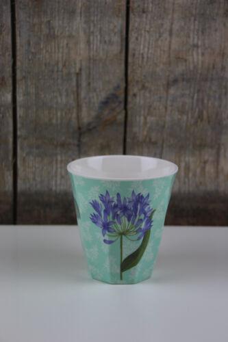 Sweet Botanical Blumen // Agapanthus Melamin Cup M Becher mint Ginger