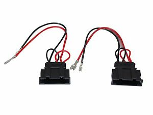 speaker wiring harness adapter a4a radio stereo speaker wire harness adapter plug for vw seat  a4a radio stereo speaker wire harness
