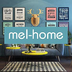 Mel-home AU