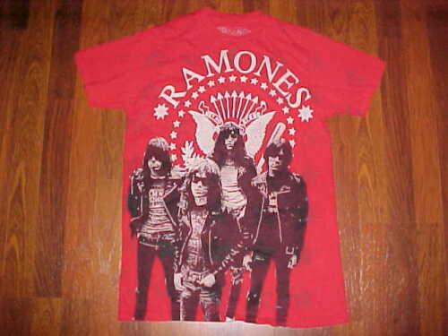 Rock and Rebellion Vintage Punk Rock Ramones Presedential Seal R