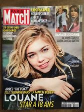 Paris Match du 12 fev 2015 - Louane / Rania de Jordanie / 36 Quai des Orfevres