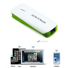Mini Portable 150M 5in1 3G WIFI Mobile Wireless Router With Hot Power Bank GR LN