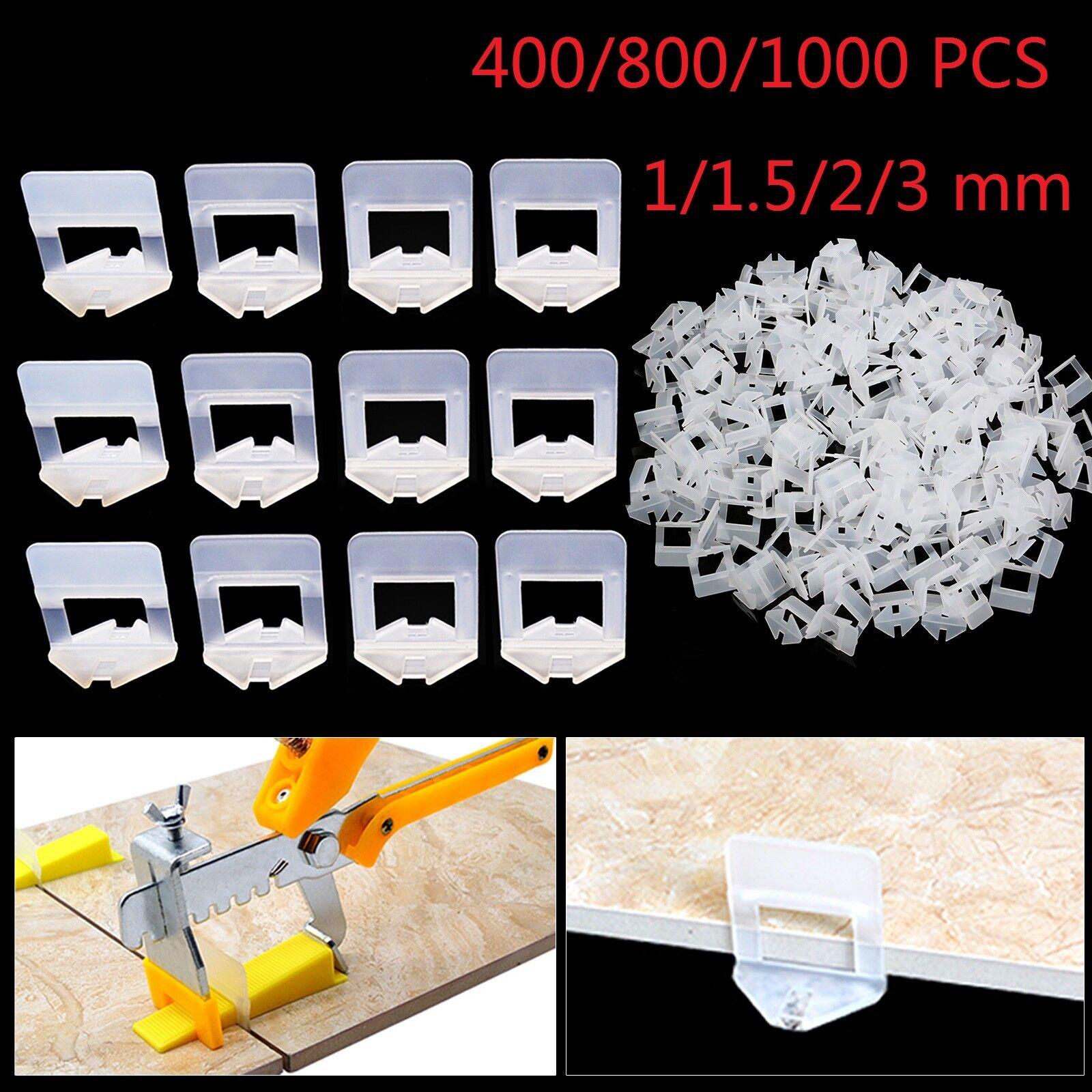 400 800 1000 St Nivelliersystem Zuglaschen Fliesen 1-3mm Verlegehilfe Laschen