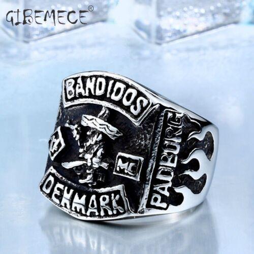 Rings Stainless Steel Denmark Club Men/'S Fashion Upmarket Creative Jewelry