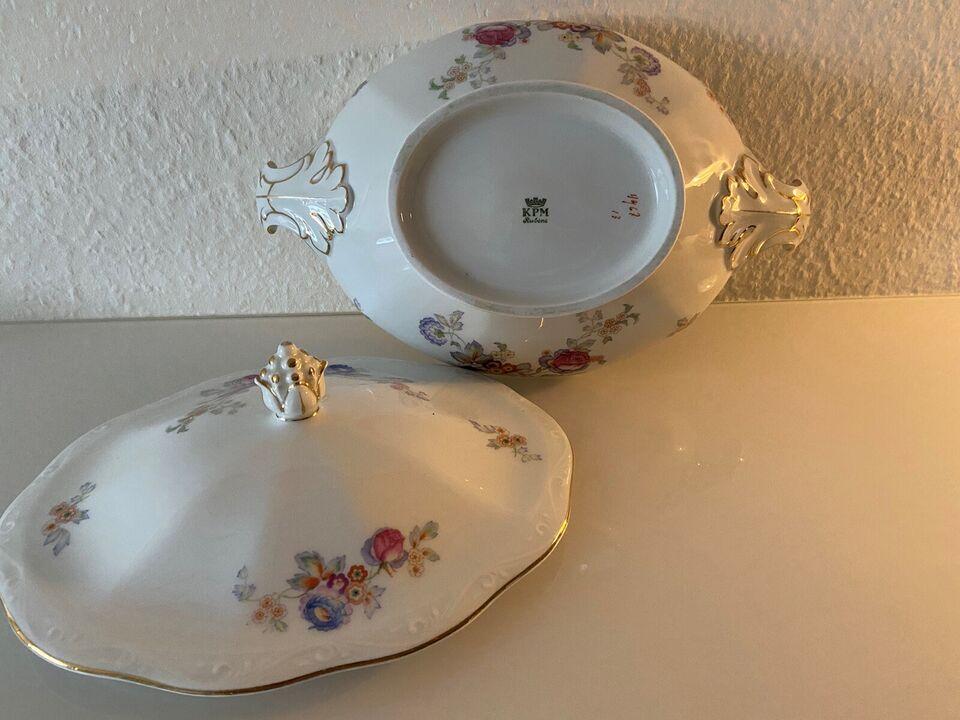 Porcelæn, Terrin , KPM. Rubens