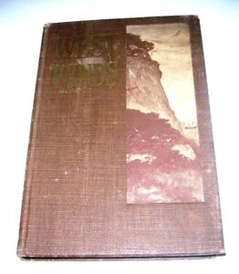 WEST-WINDS-CALIFORNIA-039-S-BOOK-FICTION-1914-Jack-London-039-039-The-Son-of-the-Wolf