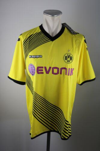 XL BVB 09 Kappa jersey Evonik CL Neu Borussia Dortmund Trikot 2011-12 Gr