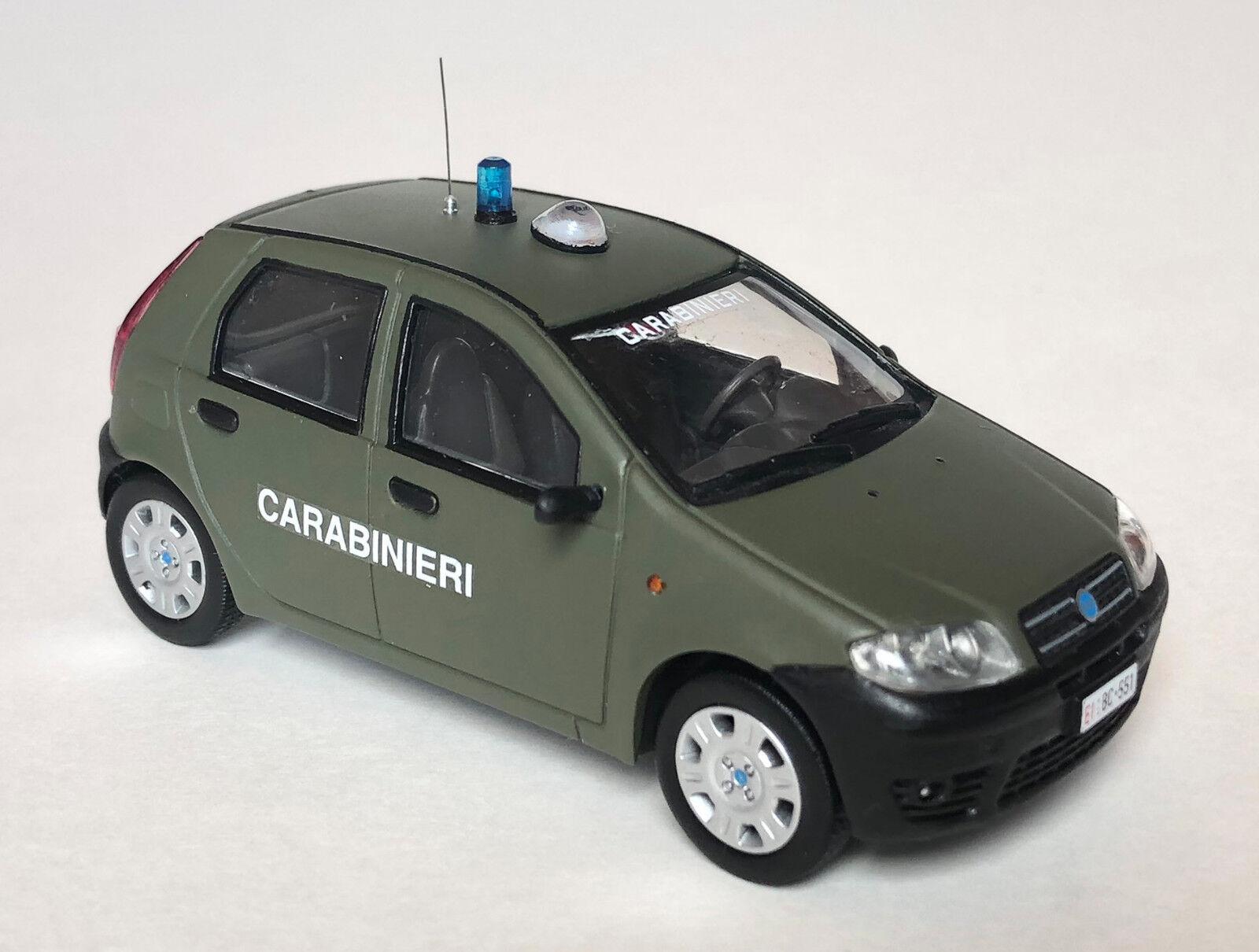 Fiat O 2003 Punto Carabinieri Esercito Italiano 43 Nvafws8411 C 1 gbf6Y7y