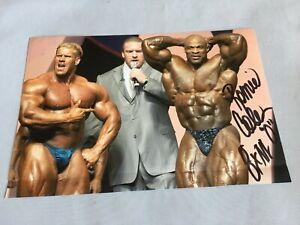 RONNIE-039-King-039-COLEMAN-8x-Mr-Olympia-Bodybuilder-signed-Foto-20x30-RARITAT