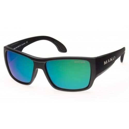 Mako COgreen  - pink Glass Green Mirror Sunglasses Polarised 9596 G2H5 + Shirt  best service