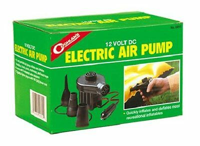 Coghlan's 12V DC Electric Quick Pump Air inflateable