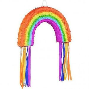 Rainbow-Pinata-Party-Games-Fun-Kids-Party-Game-Summer-Party-Decorations